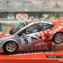 Scalextric: PEUGEOT 307 WRC 'TOTAL' SLOT CAR RELEASED BY SCALEXTRIC SPAIN (SCX) (REFERENCE 6451) IN 2010, NUEVO. Lote 160585430