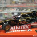 Scalextric: RENAULT LOTUS F1 SLOT CAR RELEASED BY SCALEXTRIC SPAIN (SCX) (REFERENCE A10040S300) IN 2011, NUEVO. Lote 160607354