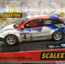 Scalextric: FORD FOCUS WRC 'SAINZ-MARTÍ' SLOT CAR RELEASED BY SCALEXTRIC SPAIN (SCX) (RFª6094) IN 2003, NUEVO. Lote 160614362