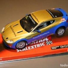 Scalextric: SCALEXTRIC 6453 ASTON MARTIN VANTAGE V8 HAMMAN. Lote 162404790