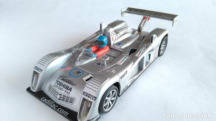 SCALEXTRIC CADILLAC NORTHSTAR 24 H LE MANS 2000. CON LUCES ARTESANALES. FUNCIONA (Juguetes - Slot Cars - Scalextric Tecnitoys)
