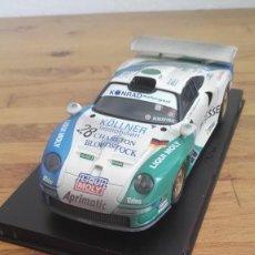 Scalextric: COCHE SCALEXTRIC PORSCHE 911 GT1 KOLLNER Nº28 DE 24 HORAS DE LEMANS TECNITOYS. Lote 163420658