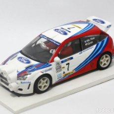 Scalextric: FORD FOCUS RS WRC RALLYE DE MONTECARLO 1999 COLIN MCRAE (SCALEXTRIC) NUEVO. Lote 163738998