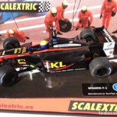 Scalextric: MINARDI F-1 GP AUSTRALIA 2002 WEBBER SCALEXTRIC 6107. Lote 163959506