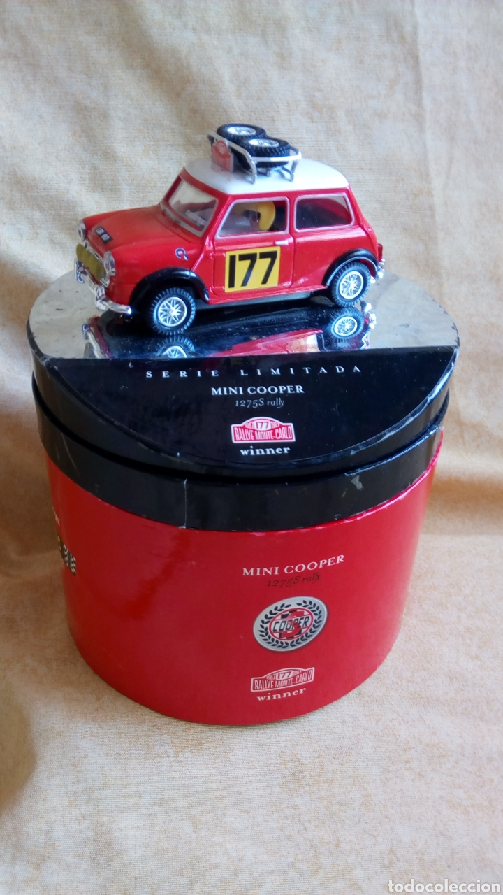 SCALEXTRIC. MINI COOPER. SERIE LIMITADA VINTAGE. RALLYE MONTECARLO (Juguetes - Slot Cars - Scalextric Tecnitoys)