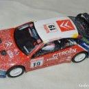 Scalextric: CITROËN XSARA T4 / WRC - C. SAINZ / M. MARTI - CON LUCES, ORIGINAL TECNITOYS - FUNCIONANDO ¡MIRA!. Lote 164106626