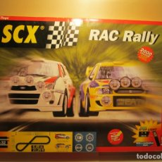 Scalextric: CAJA VACIA CIRCUITO RAC RALLY SCALEXTRIC. Lote 164337806
