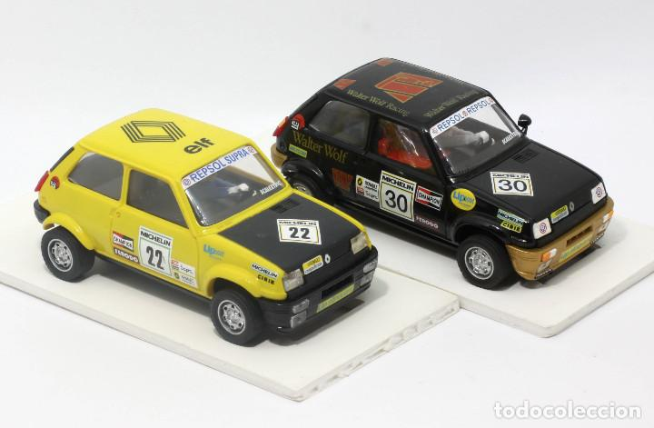 Scalextric: Lote 2 Renault 5 Copa (Scalextric) - Foto 2 - 164605690