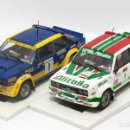 Scalextric: LOTE 2 FIAT 131 ABARTH EQUIPOS OFICIALES ALITALIA Y SEAT (SCALEXTRIC). Lote 164605906