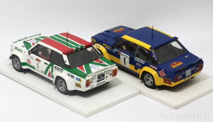 Scalextric: Lote 2 Fiat 131 Abarth equipos oficiales Alitalia y Seat (Scalextric) - Foto 4 - 164605906