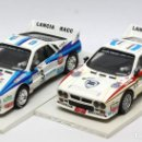 Scalextric: LOTE 2 LANCIA 037 RALLY DE SALVADOR SERVIÁ (SCALEXTRIC). Lote 164709574