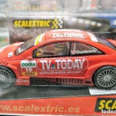 Scalextric: SCALEXTRIC 6138 OPEL ASTRA V8 COUPE DTM DUMBRECK. Lote 164752926