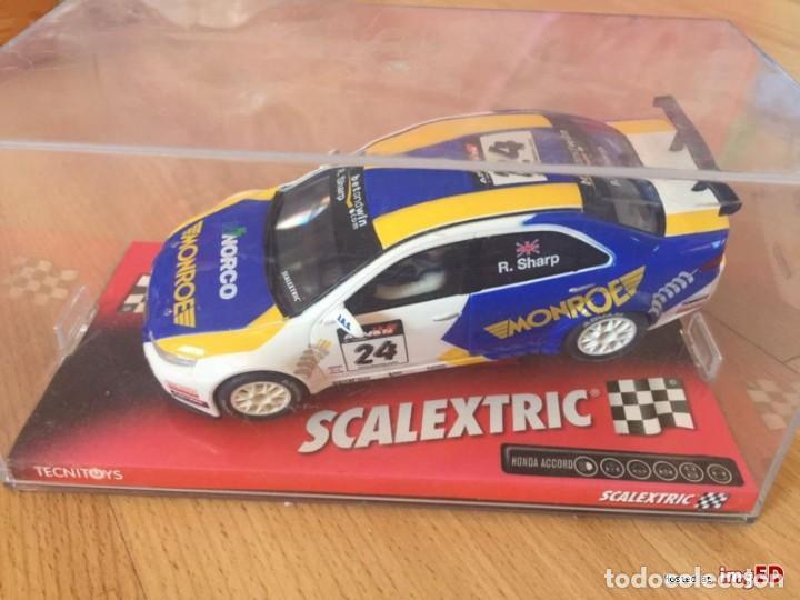 SCALEXTRIC6224HONDA ACORDEUROR (Juguetes - Slot Cars - Scalextric Tecnitoys)