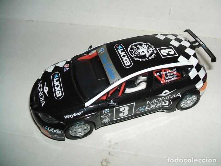 SEAT LEÓN WTCC SCALEXTRIC (Juguetes - Slot Cars - Scalextric Tecnitoys)