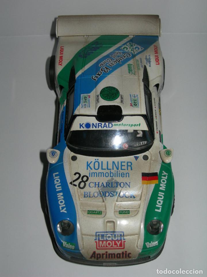 Scalextric: COCHE PORSCHE 911 GT1 EFECTO SUCIO DE SCALEXTRIC TECNITOYS - PACK LE MANS TECNI TOYS - - Foto 3 - 165253038