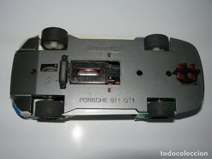 Scalextric: COCHE PORSCHE 911 GT1 EFECTO SUCIO DE SCALEXTRIC TECNITOYS - PACK LE MANS TECNI TOYS - - Foto 7 - 165253038