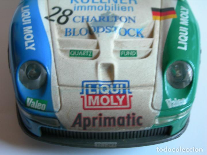 Scalextric: COCHE PORSCHE 911 GT1 EFECTO SUCIO DE SCALEXTRIC TECNITOYS - PACK LE MANS TECNI TOYS - - Foto 10 - 165253038