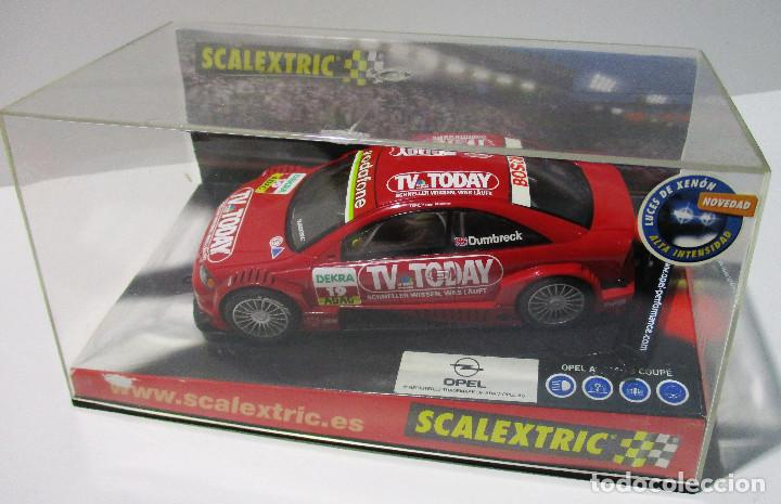 SCALEXTRIC TECNITOYS, OPEL ASTRA V8 COUPÉ TV TODAY, DUMBRECK (Juguetes - Slot Cars - Scalextric Tecnitoys)
