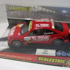 Scalextric: SCALEXTRIC TECNITOYS, OPEL ASTRA V8 COUPÉ TV TODAY, DUMBRECK. Lote 165770786