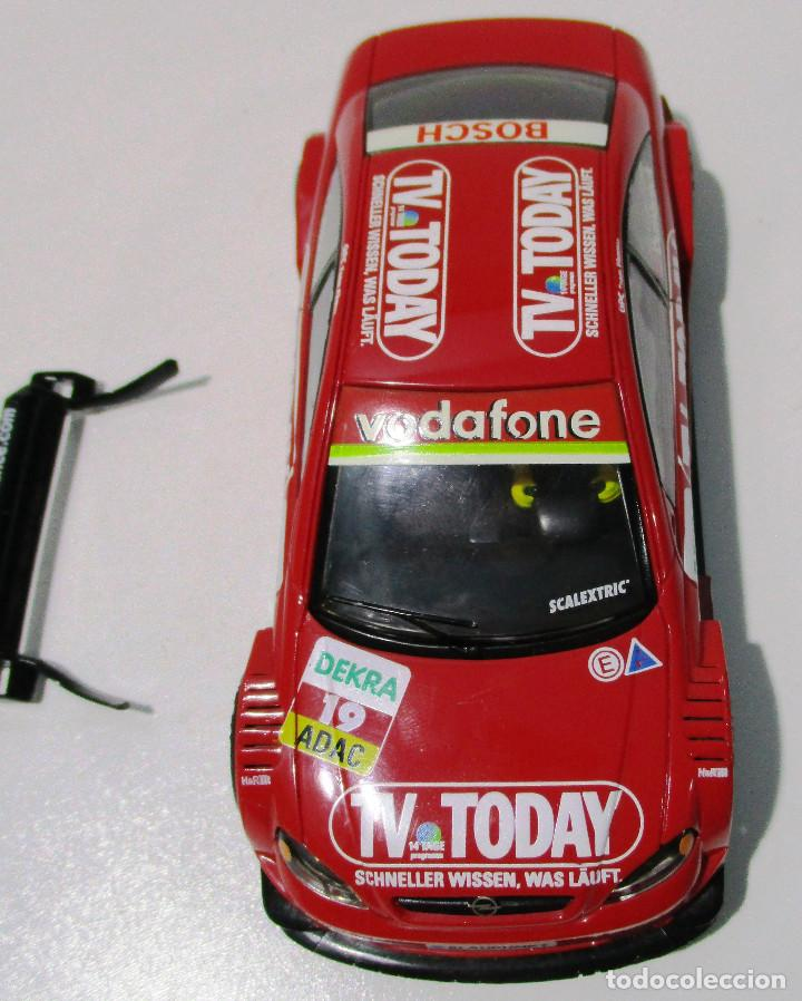 Scalextric: SCALEXTRIC TECNITOYS, OPEL ASTRA V8 COUPÉ TV TODAY, DUMBRECK - Foto 7 - 165770786