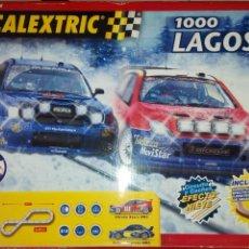 Scalextric: SCALEXTRIC TECNITOYS. CIRCUITO 1000 LAGOS. EFECTO NIEVE.. Lote 165815142