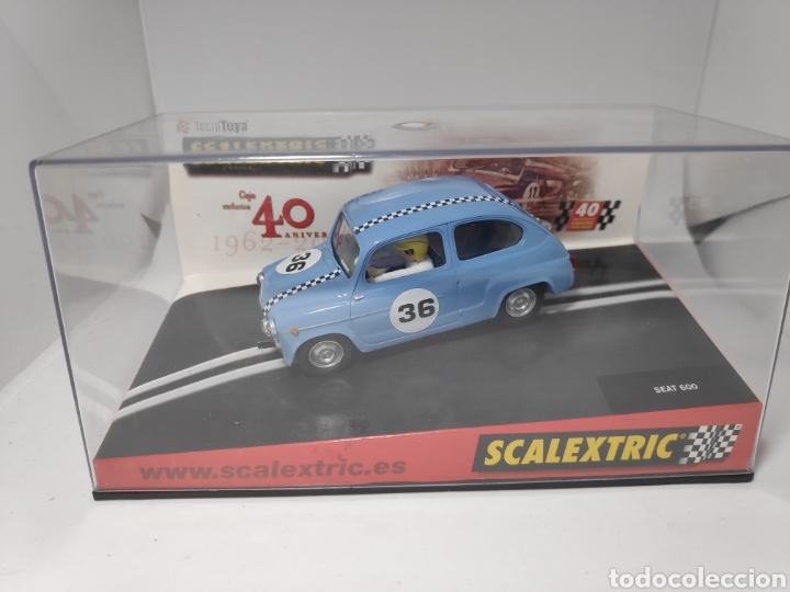 SCALEXTRIC SEAT 600 TECNITOYS 40 ANIVERSARIO (Juguetes - Slot Cars - Scalextric Tecnitoys)