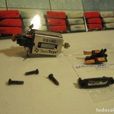 Scalextric: MOTOR RX-41, GUIA, TORNILLOS E IMAN SCALEXTRIC NUEVO. Lote 166214074