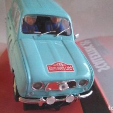 Scalextric: SCALEXTRIC RENAULT 4L RALLYE MONTECARLO 1963 CON LUCES. REF A10070S300. NUEVO. Lote 166325913