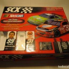 Scalextric: CAJA VACIA CIRCUITO NASCAR TRI-OVAL SUPERSPEEDWAY SCALEXTRIC NUEVA. Lote 166336826
