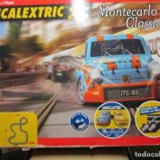 Scalextric: CAJA VACIA CIRCUITO MONTECARLO CLASSIC SCALEXTRIC. Lote 166338142