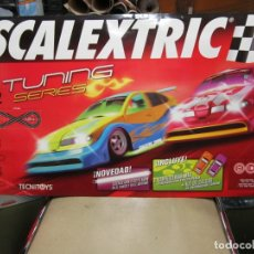 Scalextric: LAMINA SCALEXTRIC TUNNING SERIES. Lote 166338582