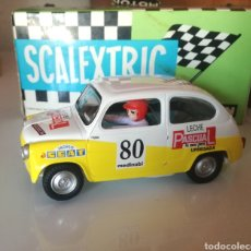 Scalextric: SEAT 600 SCALEXTRIC PASCUAL NUEVO. Lote 166426481