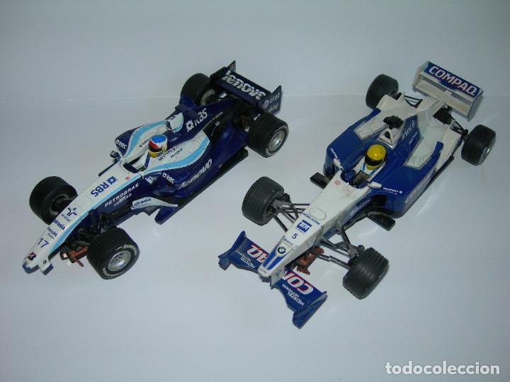 LOTE DE 2 COCHES WILLIAMS - FW28 Y BMW FW23 - DE SCALEXTRIC TECNITOYS (Juguetes - Slot Cars - Scalextric Tecnitoys)