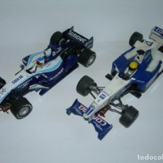 Scalextric: LOTE DE 2 COCHES WILLIAMS - FW28 Y BMW FW23 - DE SCALEXTRIC TECNITOYS. Lote 166640354
