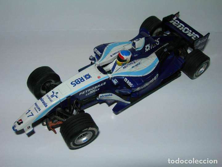 Scalextric: LOTE DE 2 COCHES WILLIAMS - FW28 Y BMW FW23 - DE SCALEXTRIC TECNITOYS - Foto 2 - 166640354