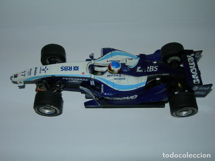 Scalextric: LOTE DE 2 COCHES WILLIAMS - FW28 Y BMW FW23 - DE SCALEXTRIC TECNITOYS - Foto 3 - 166640354