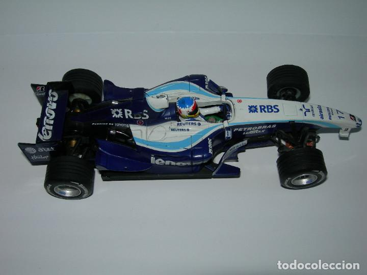 Scalextric: LOTE DE 2 COCHES WILLIAMS - FW28 Y BMW FW23 - DE SCALEXTRIC TECNITOYS - Foto 4 - 166640354
