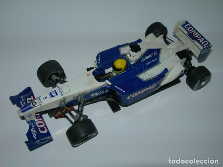 Scalextric: LOTE DE 2 COCHES WILLIAMS - FW28 Y BMW FW23 - DE SCALEXTRIC TECNITOYS - Foto 9 - 166640354