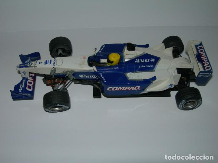 Scalextric: LOTE DE 2 COCHES WILLIAMS - FW28 Y BMW FW23 - DE SCALEXTRIC TECNITOYS - Foto 10 - 166640354