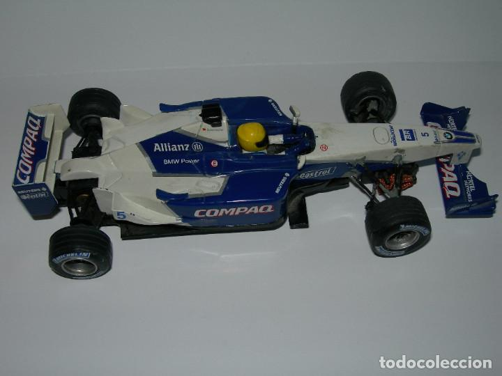 Scalextric: LOTE DE 2 COCHES WILLIAMS - FW28 Y BMW FW23 - DE SCALEXTRIC TECNITOYS - Foto 11 - 166640354