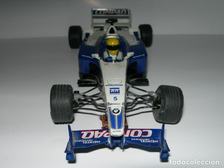 Scalextric: LOTE DE 2 COCHES WILLIAMS - FW28 Y BMW FW23 - DE SCALEXTRIC TECNITOYS - Foto 12 - 166640354