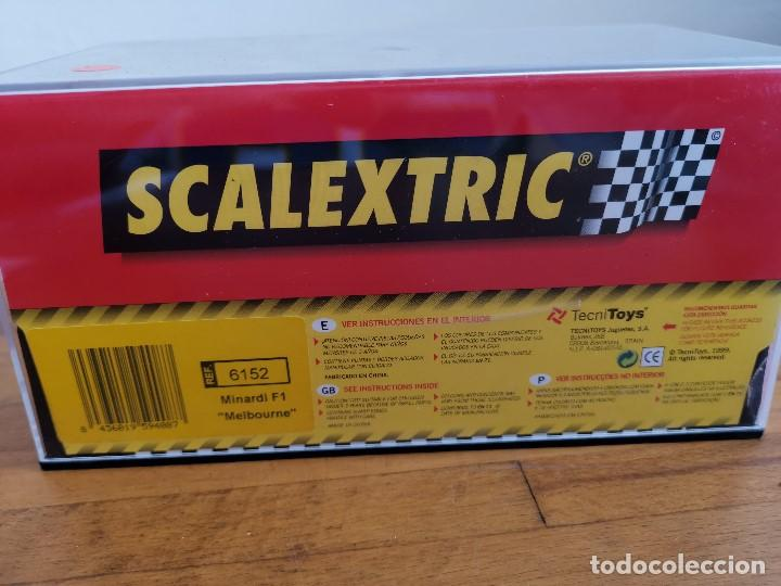 Scalextric: Coche scalextric Minardi F1 Melbourne 2004 ref.6152 - Foto 5 - 167166988