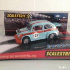 Scalextric: SLOT, SCALEXTRIC 6119, FIAT 600 ABARTH Nº129, GULF. Lote 167196272