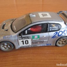 Scalextric: SCALEXTRIC: COCHE PEUGEOT 206 WRC ( GRONHOLM - RAUTIAINEN). Lote 167486972