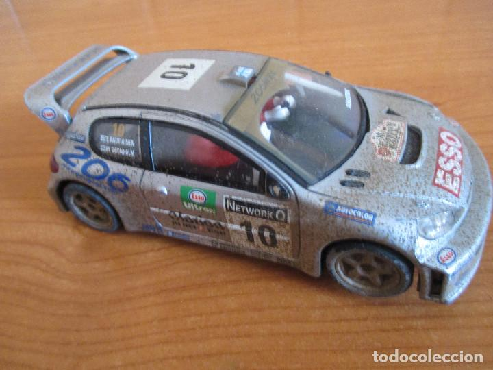Scalextric: SCALEXTRIC: COCHE PEUGEOT 206 WRC ( GRONHOLM - RAUTIAINEN) - Foto 2 - 167486972