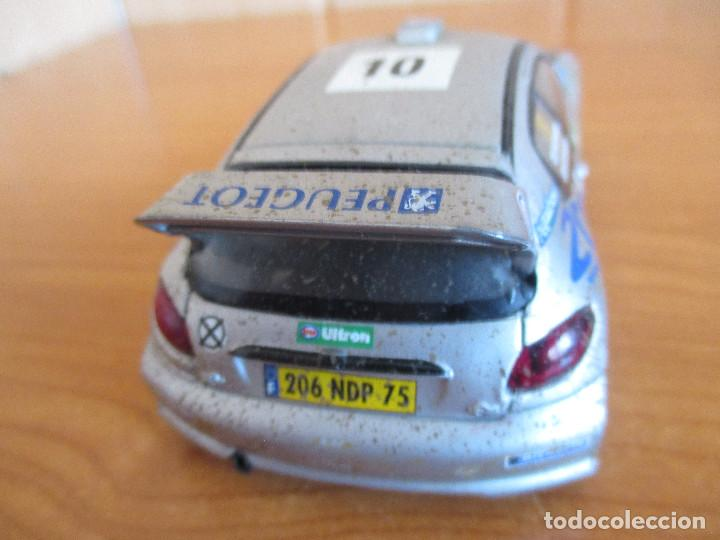 Scalextric: SCALEXTRIC: COCHE PEUGEOT 206 WRC ( GRONHOLM - RAUTIAINEN) - Foto 3 - 167486972
