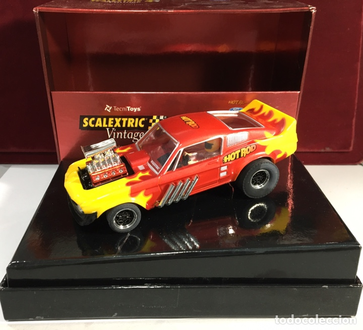 COCHE SCALEXTRIC FORD MUSTANG (Juguetes - Slot Cars - Scalextric Tecnitoys)