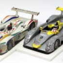 Scalextric: LOTE 2 X AUDI R8 LE MANS (SCALEXTRIC). Lote 168064236