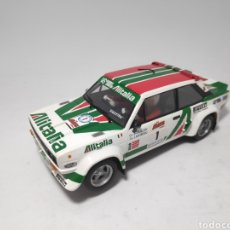 Scalextric: SCALEXTRIC FIAT 131 ABARTH ALITALIA ALTAYA. Lote 168418510