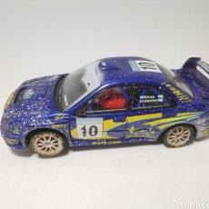 Scalextric: SCALEXTRIC SUBARU IMPREZA WRC RALLY SWEDISH EFECTO NIEVE TECNITOYS. Lote 168754482